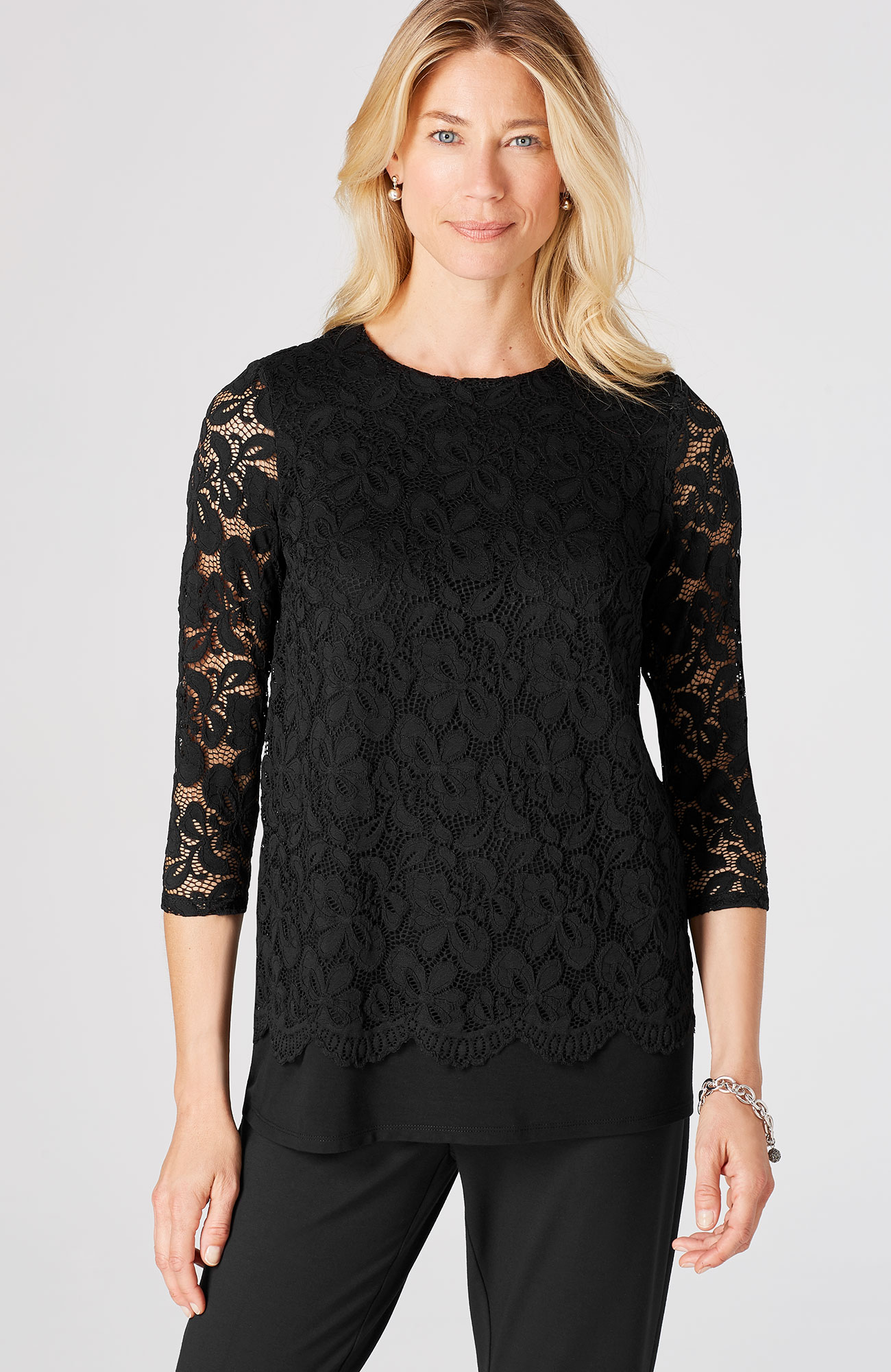 Wearever lace top