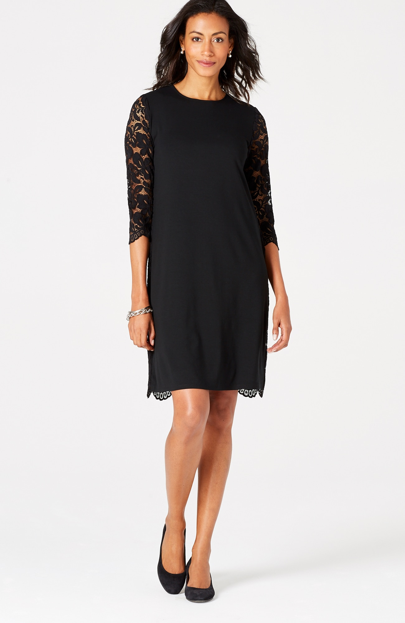 Wearever lace-back dress