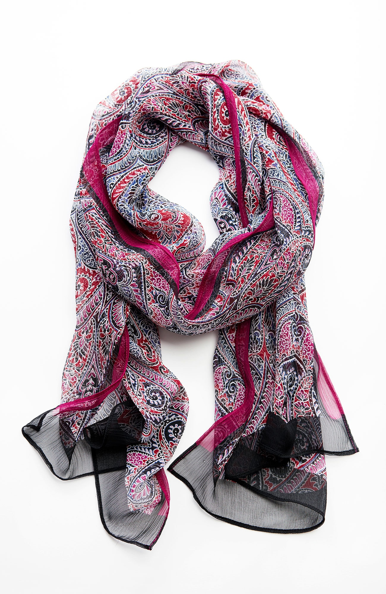 ornate-medallions silk scarf
