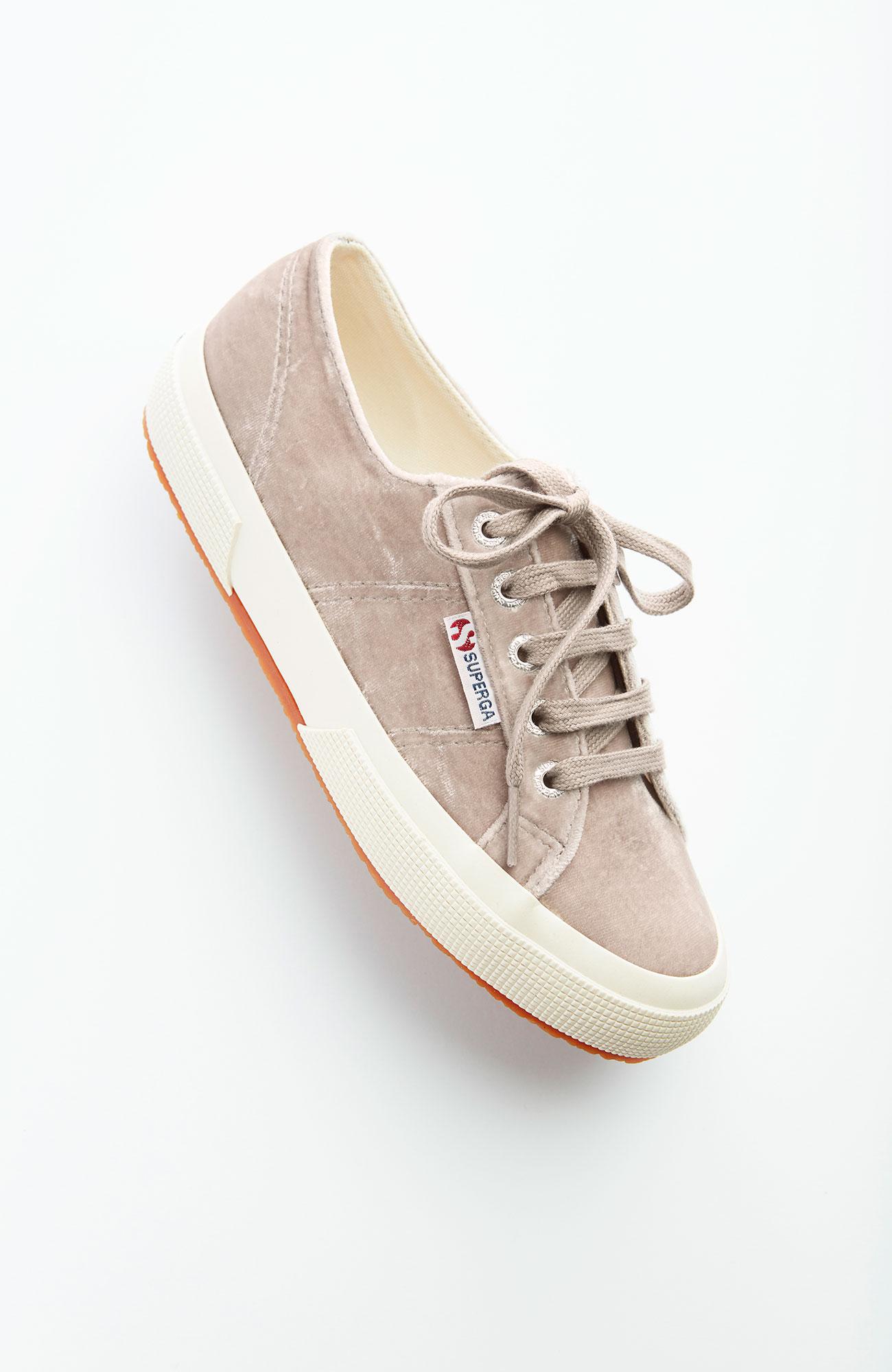 Superga® velvet sneakers
