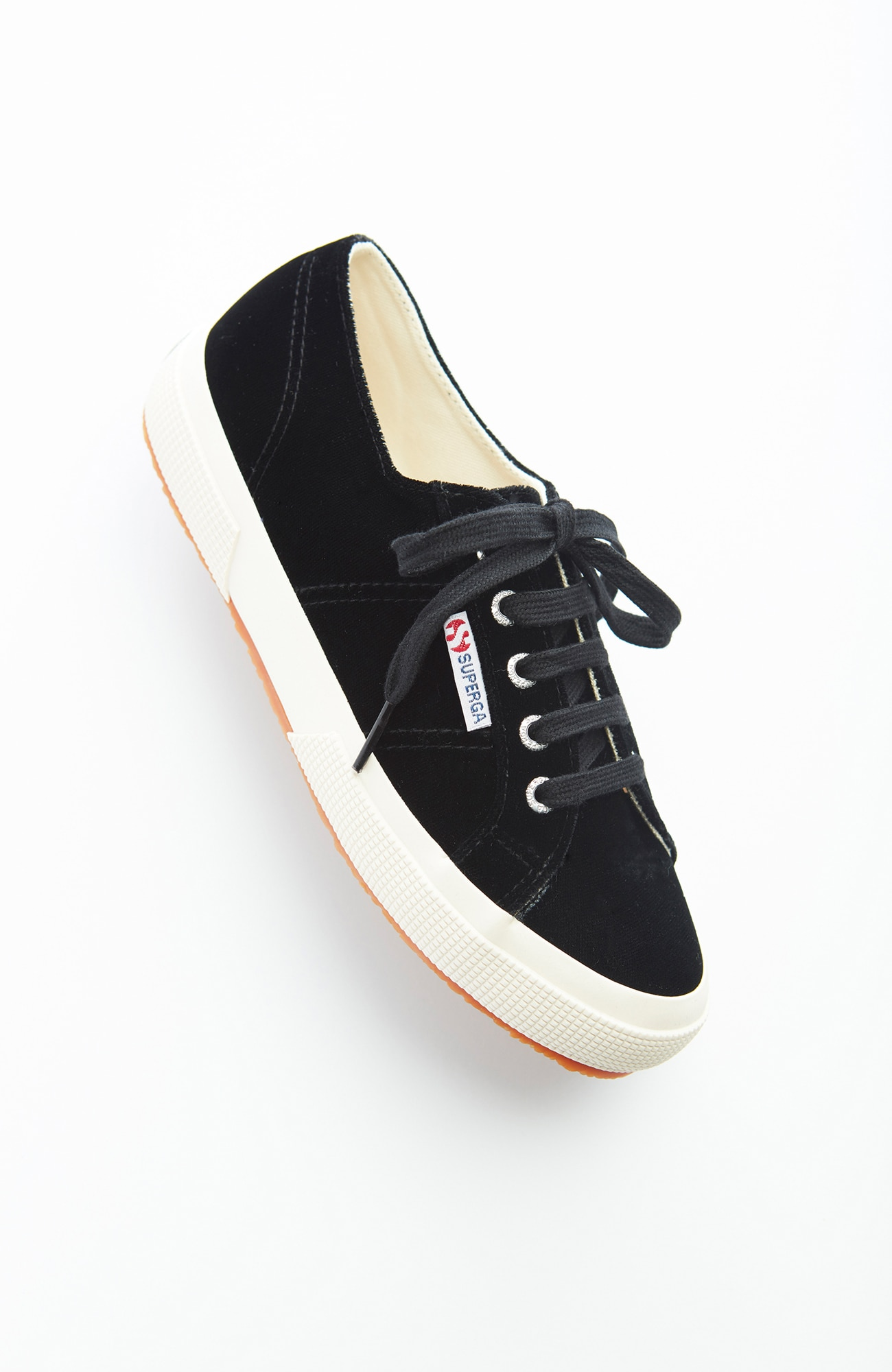 Superga® velvet sneakers