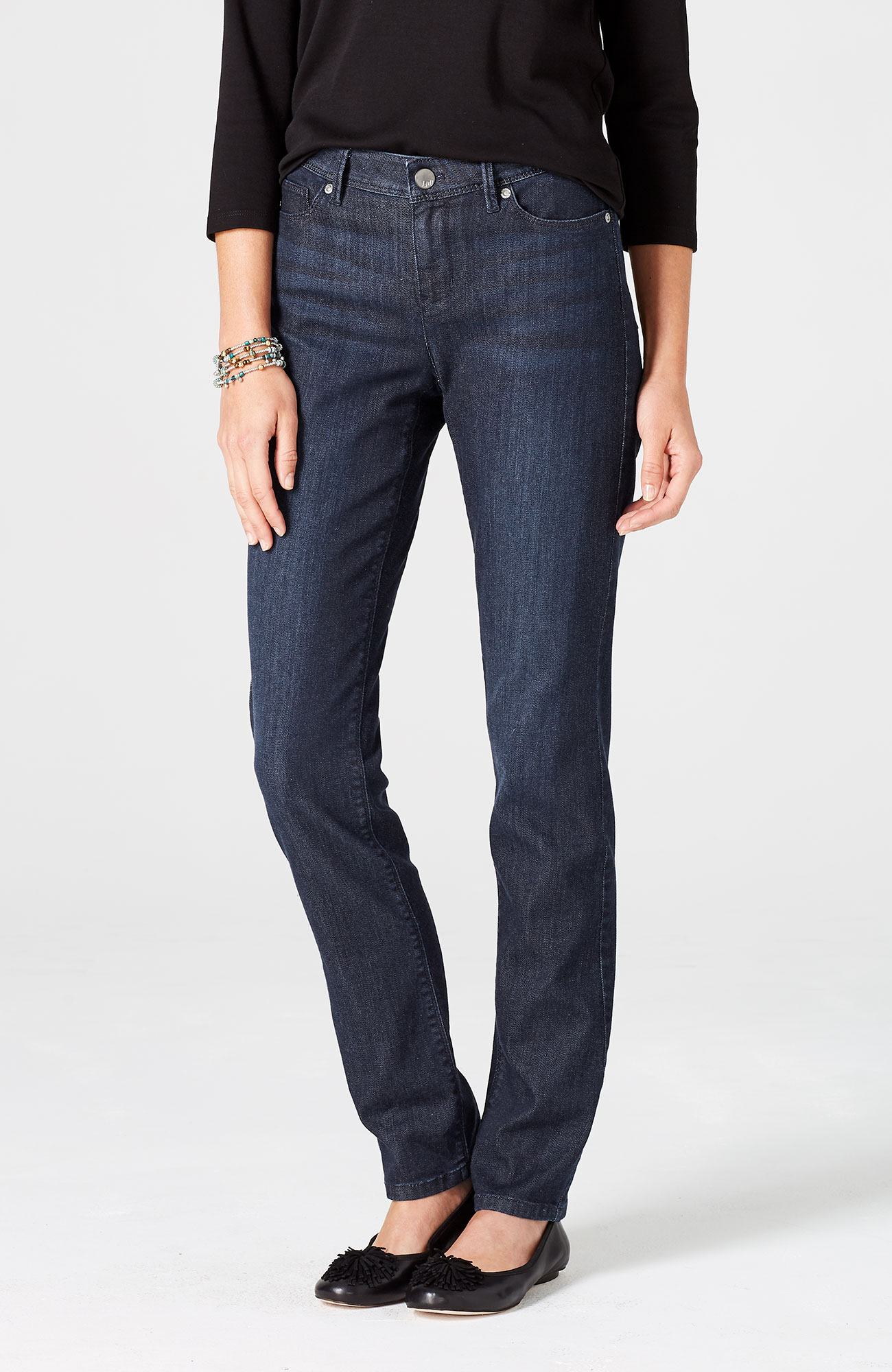 Authentic Fit slim-leg jeans