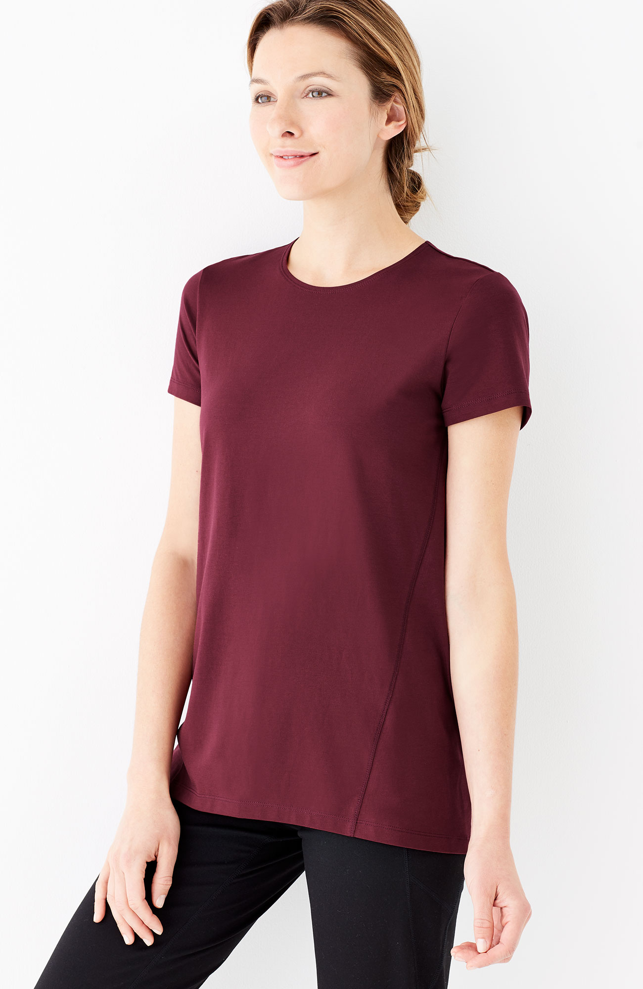 Pure Jill fit progress stretch tee