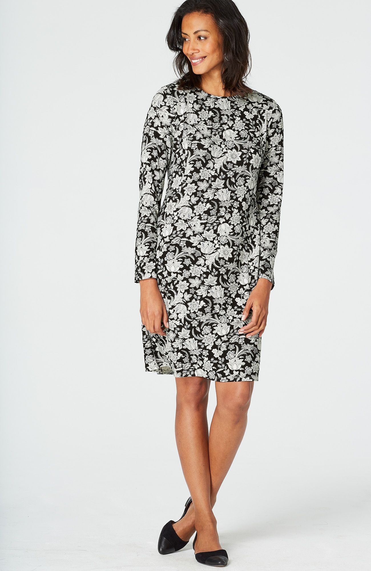 Wearever floral multiseam dress