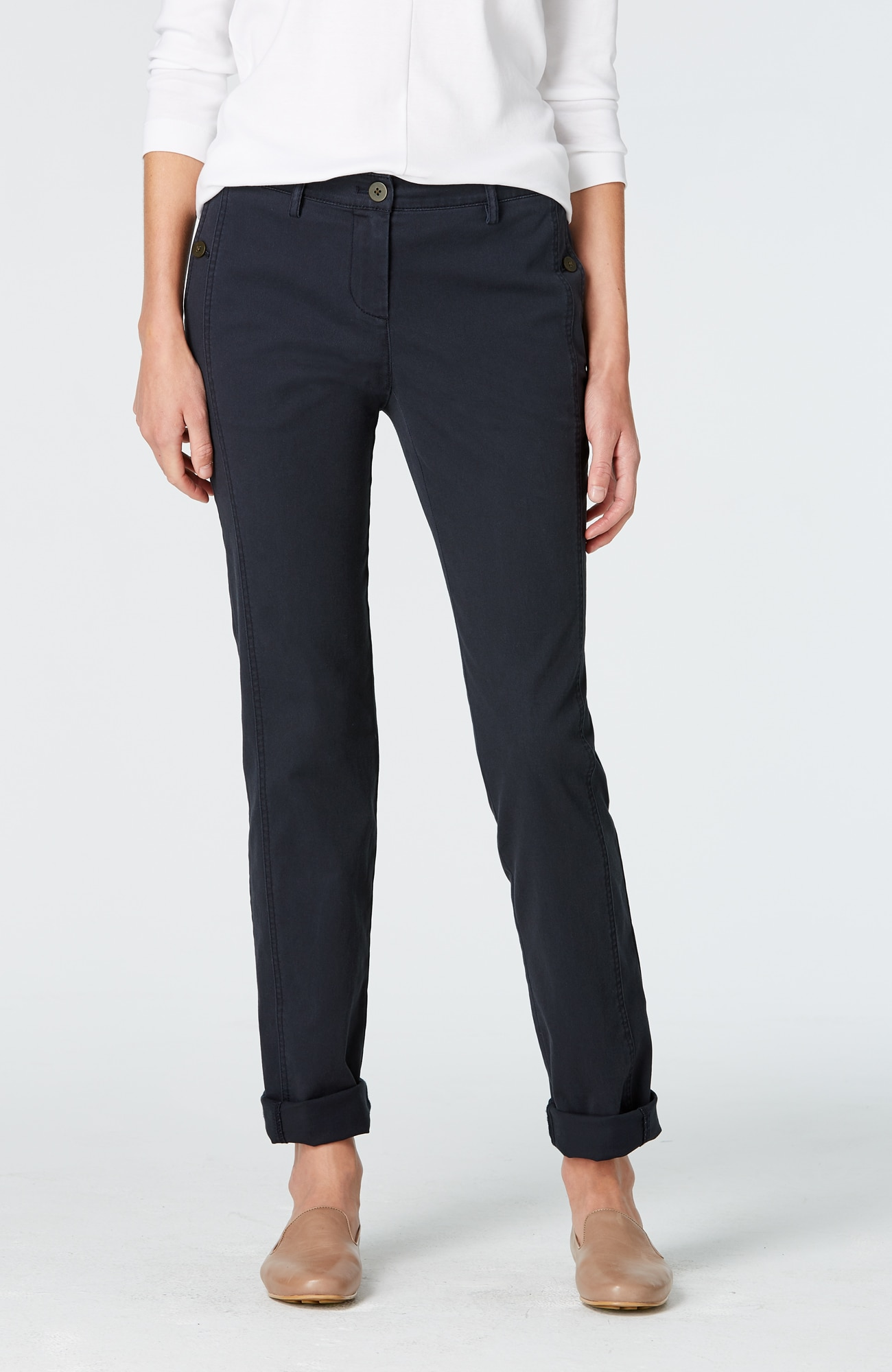 cotton weekender pants