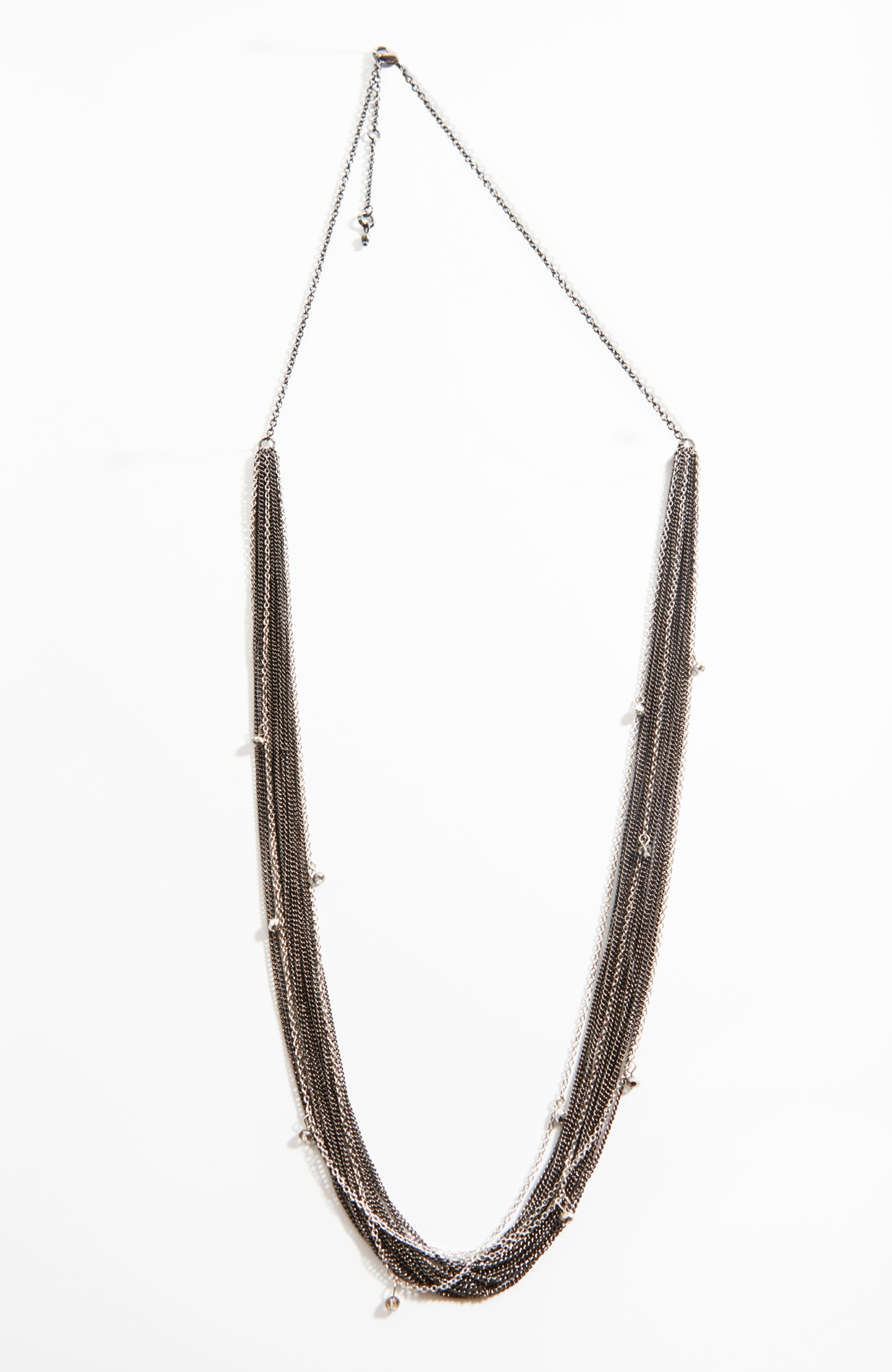 multistrand beaded-chain necklace