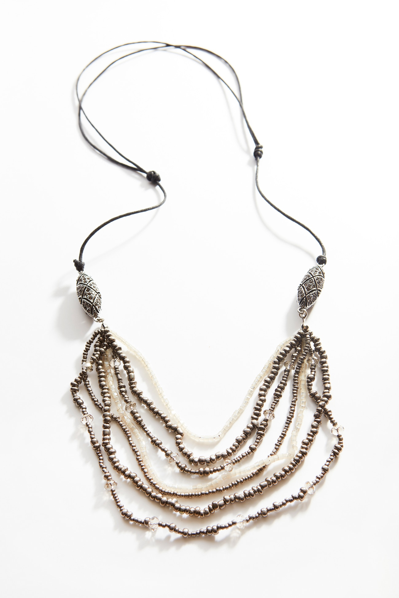deco cascading necklace