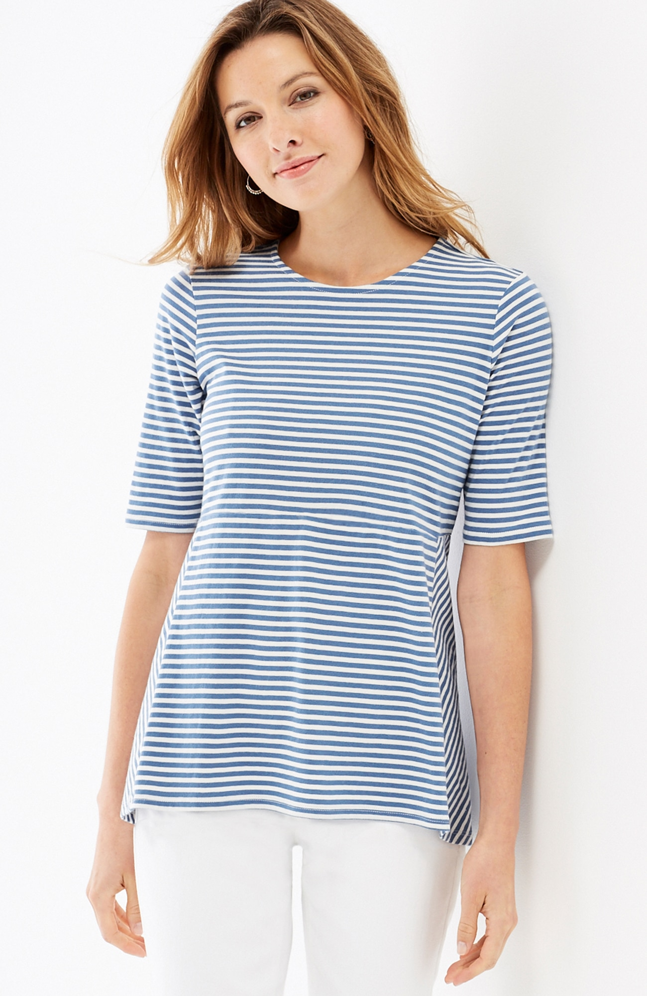 seamed easy tee