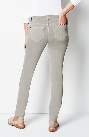 Back Image for Authentic Fit Slim-Leg Jeans