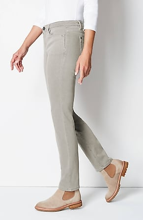 Side Image for Authentic Fit Slim-Leg Jeans