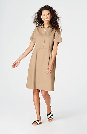 1b55d156c9e Product Image Quick Look for Cotton Poplin Shirtdress
