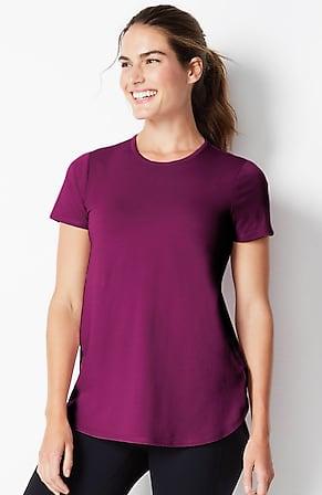 Image for Fit Progress Pima-Stretch Shirttail Tee