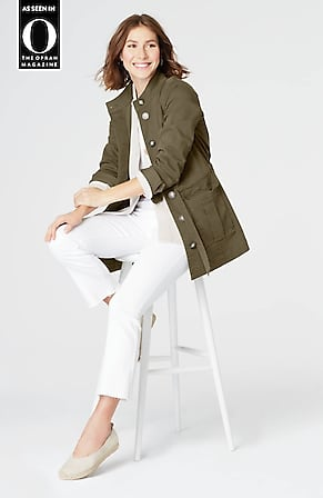 cd2fa896f70 Product Image Quick Look for Brushed-Twill Tie-Waist Jacket