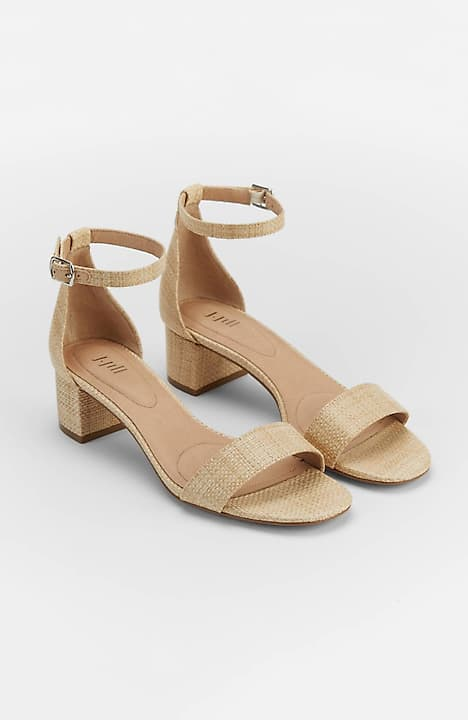 Ariane Block-Heel Sandals