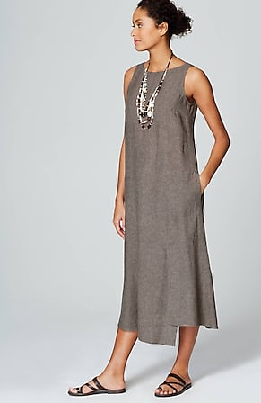 1487488c01b Product Image Quick Look for Pure Jill Linen   Rayon Asymmetric Dress