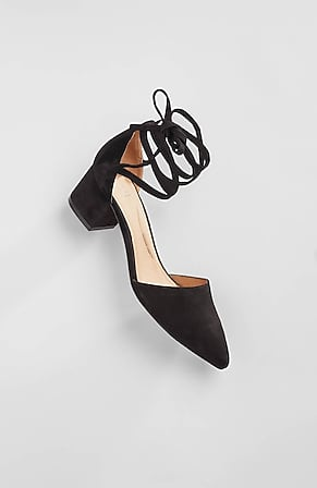 Image for Zelda Block-Heel D'Orsay Pumps
