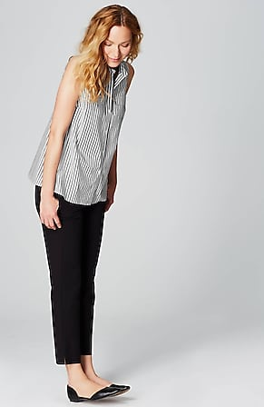 Image for Cotton-Stretch Sleeveless Shirt