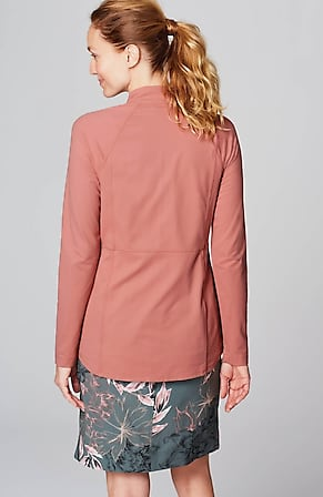 Back Image for Fit Out & About Shirttail Jacket
