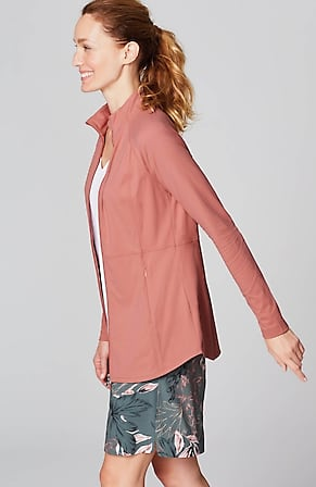 Side Image for Fit Out & About Shirttail Jacket