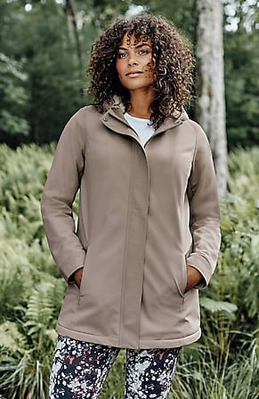 Image for Fit Sherpa-Lined Water-Resistant Jacket