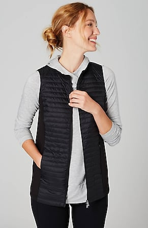 Product Image for Fit Mixed-Media Puffer Vest