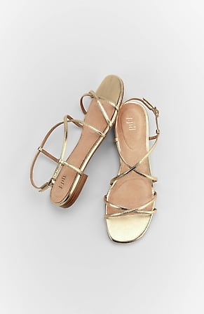 Back Image for Giselle Cross-Strap Sandals