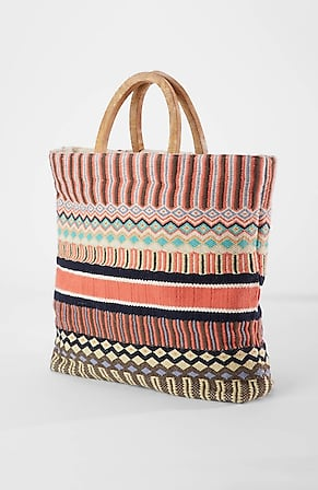 Product Image for Artisanal Jacquard Tote