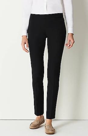 Image for Precision-Stretch Slim-Leg Pants