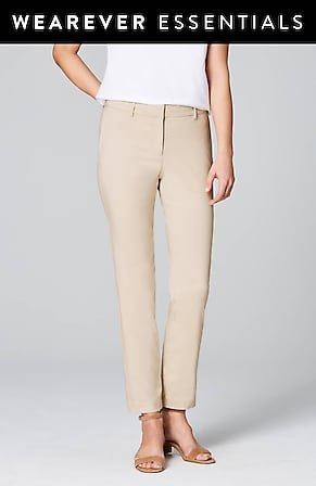 Image for Wearever Refined Woven Trousers
