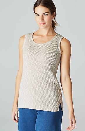Product Image for Pure Jill Softly Textured Sweater Tank
