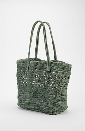 Image for Crocheted Jute Tote