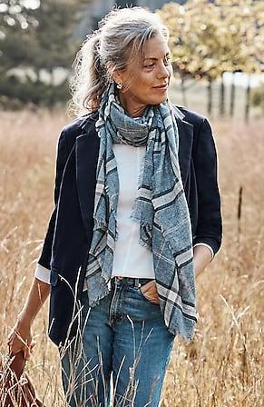Image for Essential Cotton-Stretch Blazer