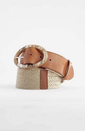 Image for Oval-Buckle Jute Belt
