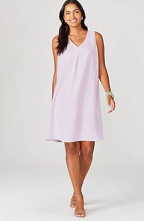 Image for Linen A-Line Dress