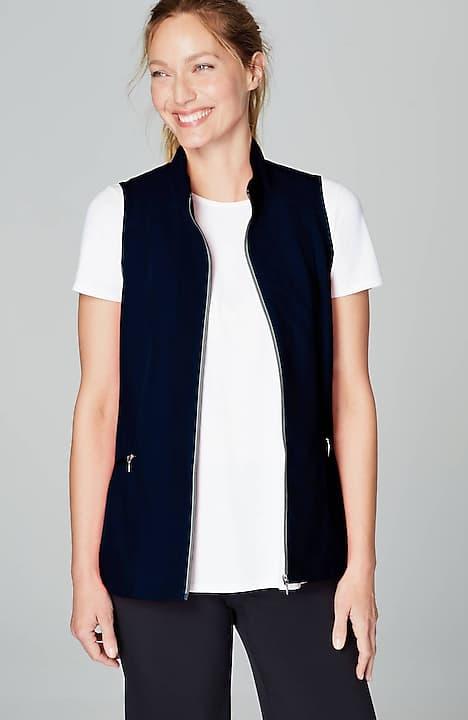 fit upf 50 water-repellent vest