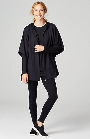Product Image for Fit Zip-Front Fleece Poncho