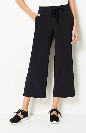 Image for Fit On-The-Go Drawstring-Waist Crops