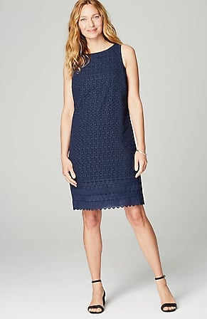 Image for Embroidered Sleeveless Dress