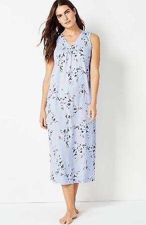 Image for Sleep Ultrasoft V-Neck Long Gown
