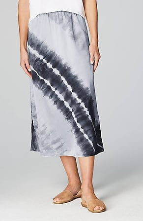 Product Image for Pure Jill Silk & Cotton Tie-Dyed Skirt