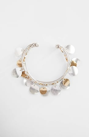 Product Image for Mixed-Metal-Disks Bracelet