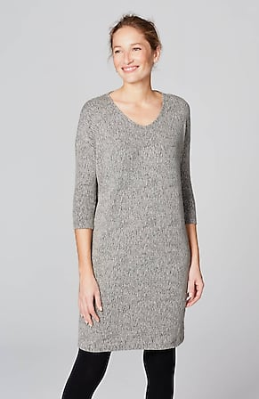 Image for Pure Jill Textured Ballet-Sleeve Dress