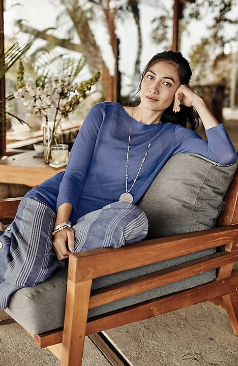 easy boat-neck sweater
