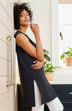 Image for Wearever Ribbed Longline Tunic