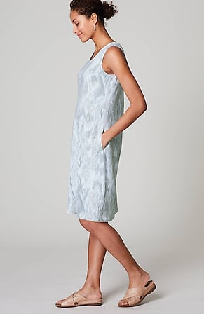 Image for Pure Jill Affinity Ikat-Print Dress