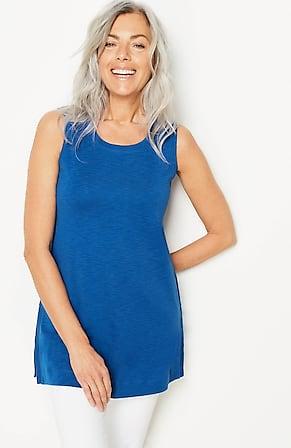 Image for Pima Sleeveless Tunic