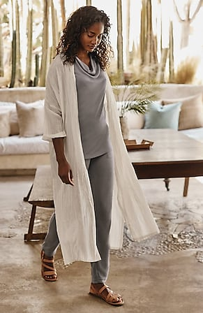 Image for Pure Jill Cotton & Silk Duster