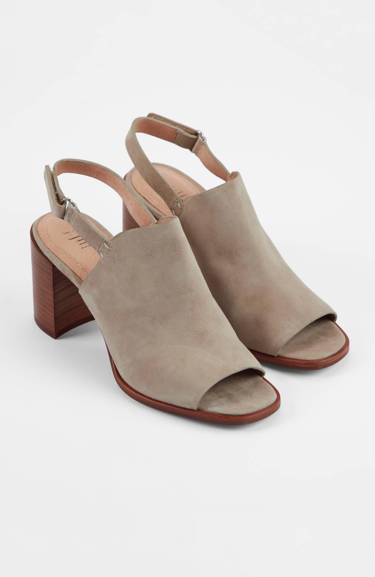 Anya Block-Heel Sandals   JJill