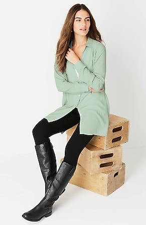Image for Rayon A-Line Tunic