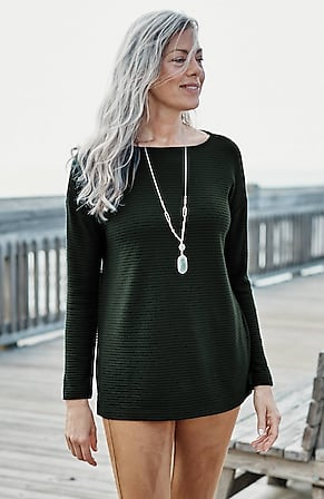 Image for Easy Ottoman-Knit Top
